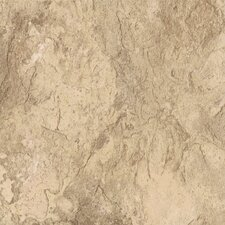 """DuraCeramic Sierra Slate 16"""" x 16"""" x 4.06mm Luxury Vinyl Tile in Golden Greige"""