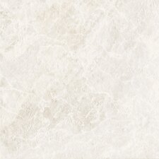 "DuraCeramic Pacific Marble 16"" x 16"" x 4.06mm Luxury Vinyl Tile in Pure White"
