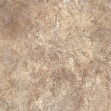 "Ovations Textured Slate 14"" x 14"" x 3.56mm Luxury Vinyl Tile in Sand"