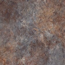 "Ovations Textured Slate 14"" x 14"" x 3.56mm Luxury Vinyl Tile in Bluestone"