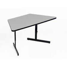 Desk Height Melamine Training Table