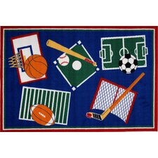 Fun Time Sports A Rama Kids Rug