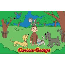 Curious George and Friends Kids Rug