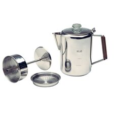 9 Cup Stainless Percolator Coffee Maker