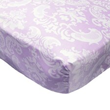 Papillon Fitted Crib Sheet