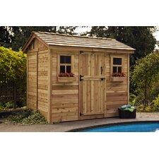 Cabana 9 Ft. W x 6 Ft. D Wood Garden Shed