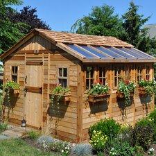 Sunshed 12 Ft. W x 12 Ft. D Wood Garden Shed