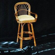 "Amarillo 30"" Swivel Bar Stool with Cushion"