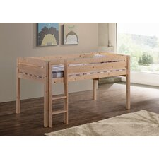 Whistler Junior Twin Low Loft Customizable Bedroom Set