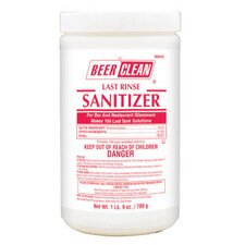 25 Oz Container Powder Beer Clean Last Rinse Glass Sanitizer