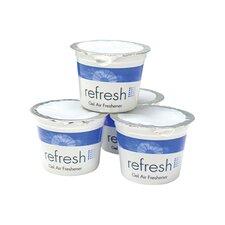 Re-Fresh Air Freshener Lemon Scent Gel - 4.6 Ounce