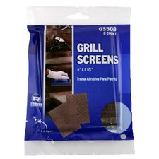Griddle-Grill Screen with Aluminum Oxide in Brown - 8/Pack (Set of 50)