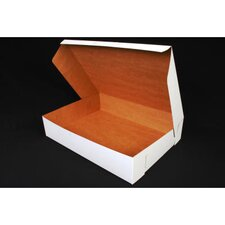 """4"""" x 14"""" Tuck-Top Bakery Boxes in White"""