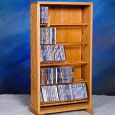 500 Series 210 CD Dowel Multimedia Storage Rack