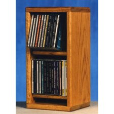 200 Series 28 CD Multimedia Tabletop Storage Rack
