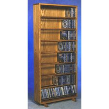 800 Series 440 CD Dowel Multimedia Storage Rack