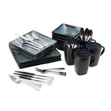 Adriatic Nauticus 36 Piece Dinnerware and Flatware Set