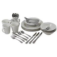 Service Service for 4 Dinnerware/Flatware Set