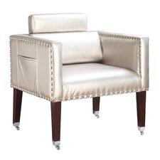 Winmark Silver Dentist Vinyl Lounge Chair