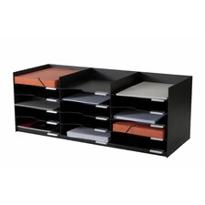 """EasyOffice 33.75"""" Wide Stackable Horizontal Organizer"""