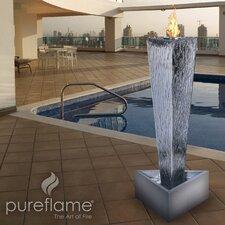 Pureflame Stainless Steel Bio-Ethanol Fire Column