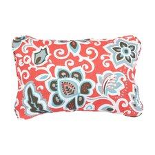 Stella Floral Indoor/Outdoor Lumbar Pillow (Set of 2)