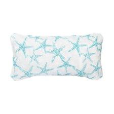 Stella Aqua Starfish Indoor/Outdoor Lumbar Pillow (Set of 2)