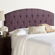 Humble + Haute Hanover 100% Linen Curved Upholstered Headboard