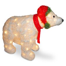 Decorative Décor 3D Polar Bear Christmas Decoration