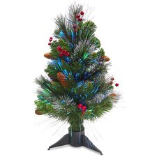2' Fiber Optic Crestwood Spruce Christmas Tree