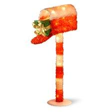 Decorative Décor Pre-Lit Mailbox Christmas Decoration