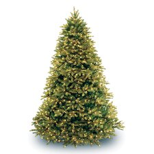 7.5' Jersey Fraser Fir Green Artificial Christmas Tree with 1250 Clear Lights with Stand