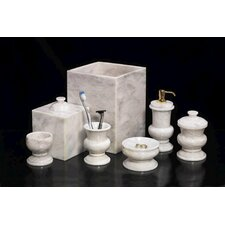 6 Piece Marble Bath Set