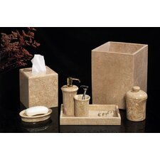 7 Piece Marble Bath Set