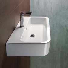 Traccia Modern Design Curved or Vessel Bathroom Sink