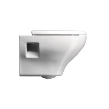 City Contemporary Ceramic Round Toilet Bowl Only
