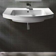 Modo Contemporary Stylish Design Curved Bathroom Sink