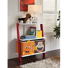"Luci 28.13"" Leaning Bookcase"