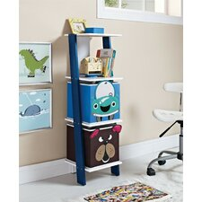 "Luci 40.98"" Leaning Bookcase"