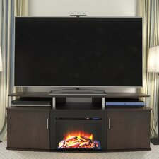 Carson TV Stand with Electric Fireplace