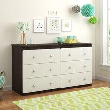 Willow Lake 6 Drawer Dresser