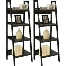 "4 Shelf Ladder 60"" Accent Shelves (Set of 2)"