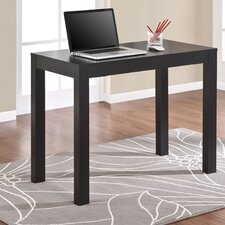 Parsons Writing Desk in Black Oak