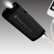 PowerNow Buddy Rechargeable Portable PowerBank for iPhone /Galaxy
