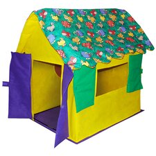 Stuffed Animal Cottage Play Tent