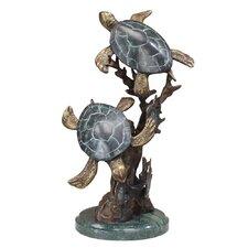 Turtle Duet Figurine