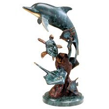 Dolphin and Undersea Friends Figurine