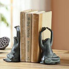 Yoga Frog Book Ends (Set of 2)