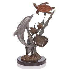 Turtle Playground and Pals Dolphin Figurine