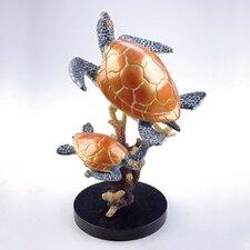 Turtle Duo Figurine